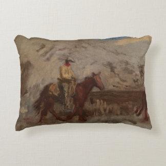 Thomas Eakins - bosquejo de un vaquero en el