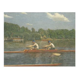 Thomas Eakins - el competir con de los hermanos de Postal