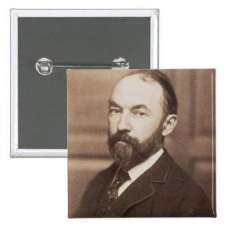 Thomas Hardy (1840-1928) (foto de la sepia) Chapa Cuadrada 5 Cm