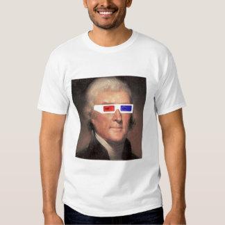 ¡Thomas Jefferson en 3D! Camisas