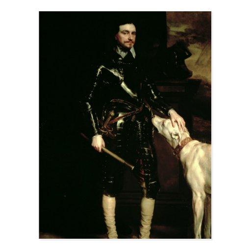 Thomas Wentworth, 1r conde de Strafford 1633-6 Tarjetas Postales