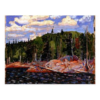 Thomson - orilla del lago, primavera, parque del postal
