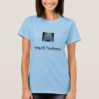 throckmorten, yo cuelgan con Throckmorton Camiseta