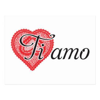 Ti amo (italiano) postal
