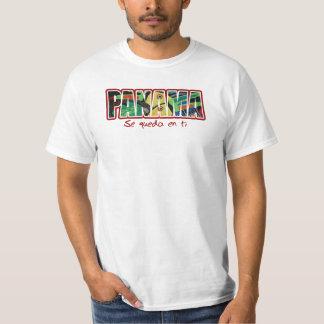 Ti del en del queda del SE de Panamá Camisetas