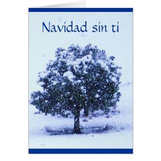 Ti del pecado de Navidad - ámele Srta. You Tarjeta De Felicitación