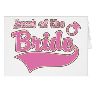 Tía de la novia felicitaciones