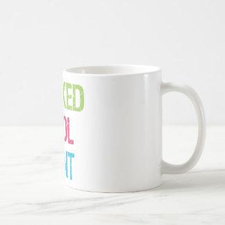 Tía fresca traviesa taza de café