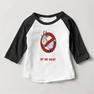Tía I ninguna cabra divertida Camiseta De Bebé