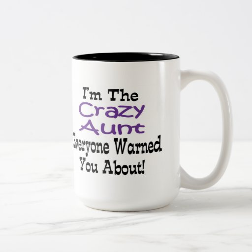 Tía loca Mug Tazas De Café