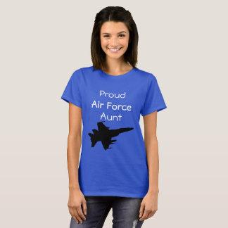 Tía orgullosa del AF Camiseta
