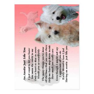 Tía Poem - Westie Postales