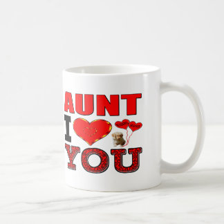 Tía te amo taza