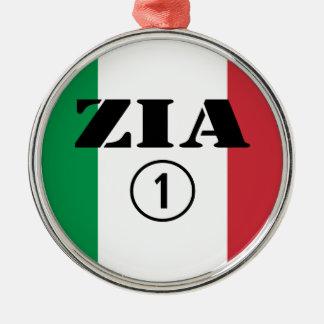 Tías italianas: Uno de Zia Numero Ornamentos De Navidad