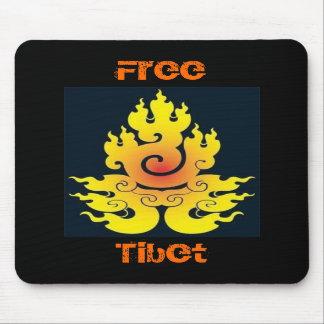Tíbet libre Mousepad Alfombrilla De Ratón