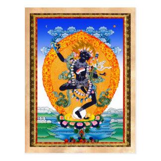Tibetano oriental fresco Nairatmya de Vajravarahi Postal