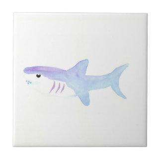 Tiburón adorable azulejo