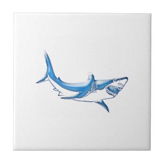 Tiburón Azulejo De Cerámica