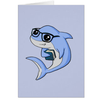 "¡Tiburón de ""Fintellectual""! Tarjeta"