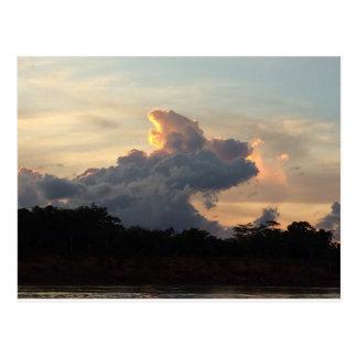 Tiburón de la nube postal