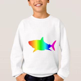 Tiburón del arco iris sudadera