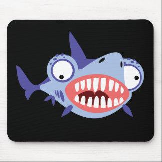 Tiburón divertido alfombrilla de ratón