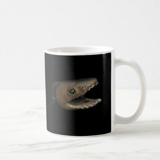 Tiburón Frilled Chlamydoselachus Anguineus Taza De Café