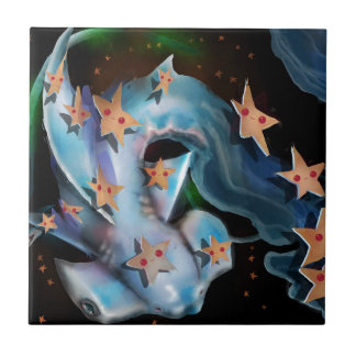 Tiburón-Hammerhead Azulejo De Cerámica