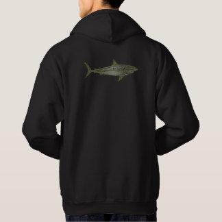 tiburón sudadera
