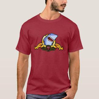 Tiburones para la camiseta del motivo de los