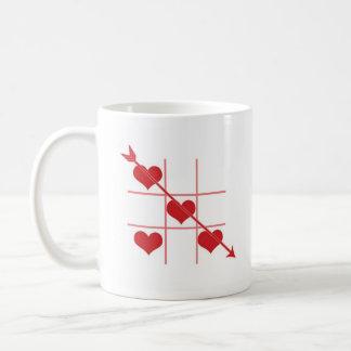 Tic-TAC-Dedo del pie Taza De Café