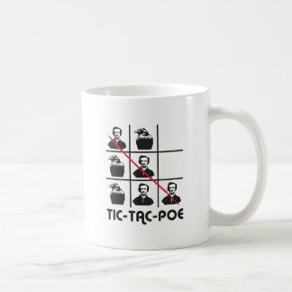 TIC-TAC-POE TAZA DE CAFÉ