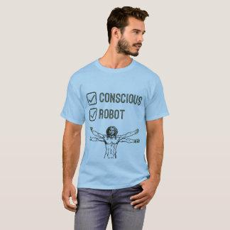 Tickbox consciente y del robot - camiseta