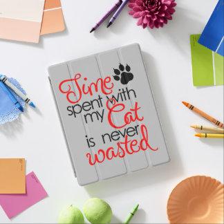Tiempo con el gato cubierta de iPad