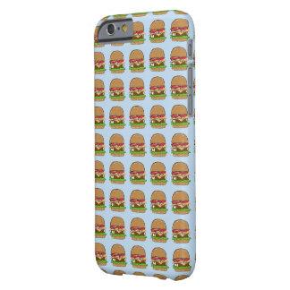 Tiempo de la hamburguesa en azul funda barely there iPhone 6