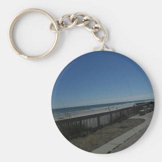 Tiempo de la playa llavero
