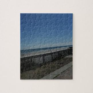Tiempo de la playa puzzle
