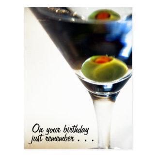 ¡Tiempo de Martini! postal