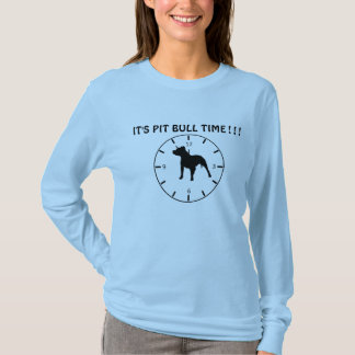 Tiempo de Pitbull Camiseta