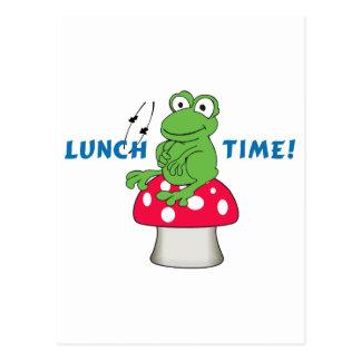 ¡Tiempo del almuerzo! Postal