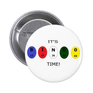 ¡Tiempo del bingo de I'ts! Botón Pin