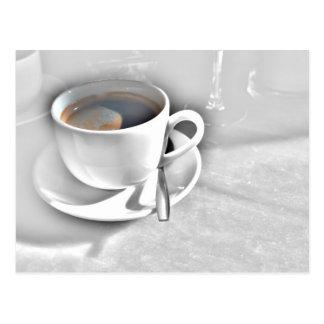 Tiempo del café tarjetas postales