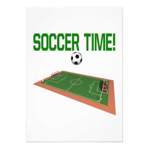 Tiempo del fútbol comunicados personales