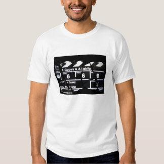 Tiempo del gitano y de película de Hairlip Camiseta