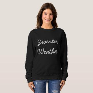 Tiempo del suéter
