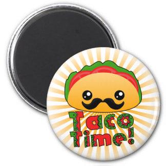 Tiempo del Taco Imán Redondo 5 Cm