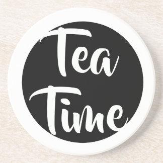 ¡Tiempo del té! Posavasos