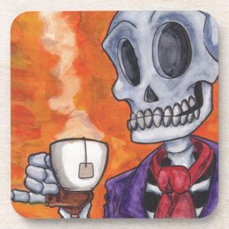 Tiempo del té posavasos de bebidas
