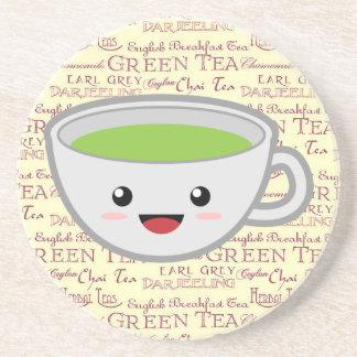 Tiempo del té posavasos manualidades
