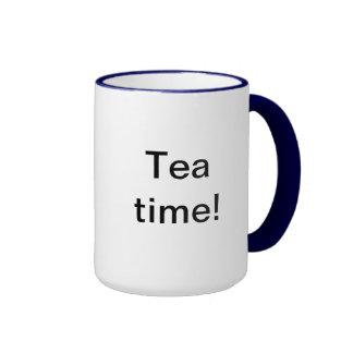 ¡Tiempo del té! Tazas